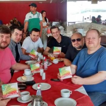Café da manhã em Juazeiro/BA - com Chico Chagas e Nonato Lima